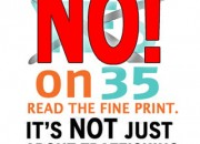 Vote no on Prop 35, the Californians Against Sexual Exploitation Act