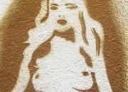 spray art of a woman