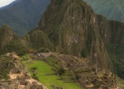 tourist are stripping at Machu Picchu